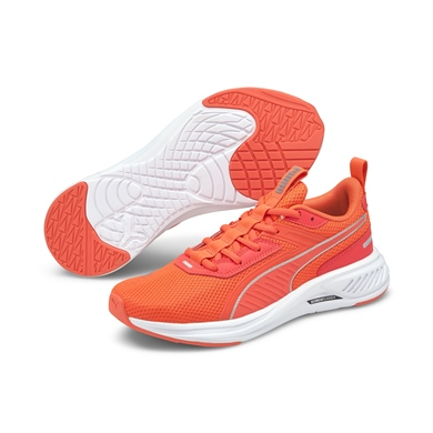 Scorch Runner Fiery Coral-Puma White