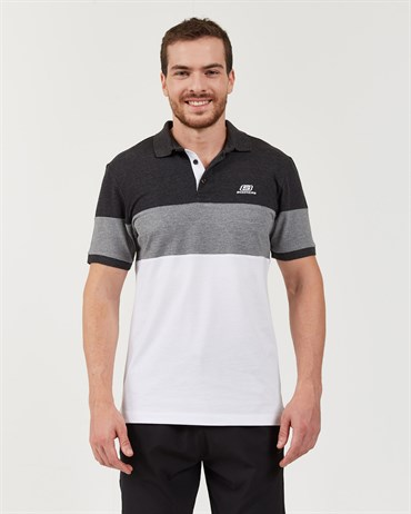Skechers Polo S M Colorblock Sport Pique Polo T-Shirt Erkek Üst & T-shirt - S201047-001